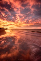 Early morning light and reflections (Gary Eastwood) Tags: reflections sunrise surfcoast surf clouds cloudsstormssunsetssunrises beach beacheslandscapes nikond750 nisifilters longexposures