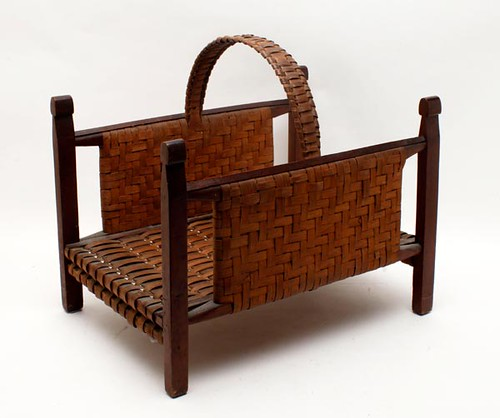 Splint Oak Arts and Crafts Basket ($476.00)