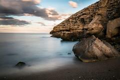 The glory of dawn ((Ruud) Reddingius) Tags: cabodegata lasnegras parquenatural sea beach sand rock shore sunrise spain españa espagne tranquil clouds dawn andalucia