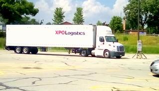 Truck in M&M Plaza parking lot - HTT