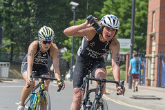 ITU Women's Traithlon Series, Leeds. June 2018 (I'mDKB) Tags: 4yukotakahashi10th 30rebeccaspence6th 2018 70300mm 70300mmf4556g elitewomen itu june leeds nikond600 triathlon worldseries imdkb nzl jpn japan newzealand triatlon rebeccaspence yukotakahashi