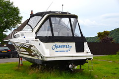 Insanity is a Baltimore boat in Balmaha (afagen) Tags: scotland uk unitedkingdom greatbritain balmaha boat insanity baltimore