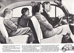 1962 USA Volkswagen brochure (Hugo-90) Tags: vw volkswagen car auto automobile ads advertising brochure catalog katalog 1962 beetle kafer fusca coccinelle