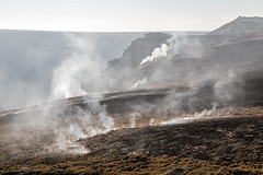 Saddleworth Moor Fire - 1 Week After (Between Wimberry and Alphin) (Craig Hannah) Tags: saddleworth saddleworthmoor fire uplands moorland smoke greenfield buckton vale pennine westriding yorkshire oldham greatermanchester england uk devastating aftermath craighannah july 2018 chewvalley dovestones carrbrook wimberry indianshead burnt scorched