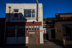 Ardwick (subterraneancarsickblues) Tags: blackpool lancashire seaside resort town urban street alley alleyway backstreet publichouse pub boozer canon 6d eos6d 1635mm f4l lseries shadow