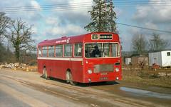 Eastern Counties LH909 (YAH909J) Ufford 1979 os_3 (BristolRE2007) Tags: bristollh easterncounties ecw easterncoachworks nbc nationalbuscompany suffolk