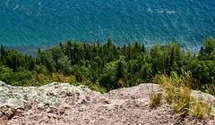 Cliff View (paulaliimatta) Tags: cliffs lakesuperior