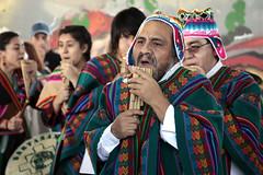 Encuentro de sikuris (Ce Rey) Tags: music musica sikuris siku andina musicaandina folklore dance multicolor textil textile fabric tejido