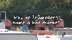 Why do travellers have a bad name? (Mark Rigler -) Tags: traveller fly tipping trash rubbish illegal dump