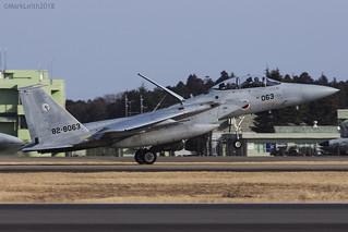 Japan Air Self Defence Force, McDonnell Douglas F-15DJ Eagle, 82-8063.