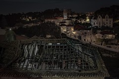 Sintra (Toledo 22) Tags: cityscape dämmerung decay city stadt dach abend longexposure portugal night nacht sintra