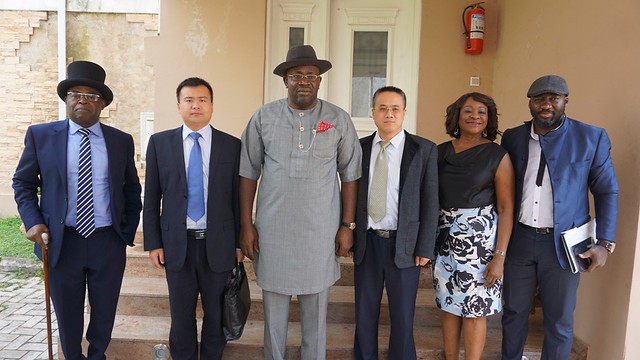 HSDickson-Chinese Investors of Agge Sea port. 11th July 2017