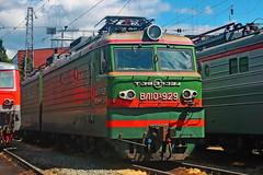 VL10U-929 (zauralec) Tags: rzd ржд локомотив электровоз депо курган kurgan depot вл10у vl10u vl10u929 929 вл10у929