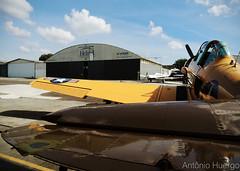 T-6G (Antônio A. Huergo de Carvalho) Tags: north american northamerican t6 t6g texan prteb aviation aircraft airplane aviação avião classic clássico warbird yellow fotografia style