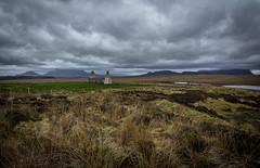 Bleak (cliveg004) Tags: moinehouse moine sutherland scotland benloyal benhope moss bog ruin clouds amhoine locheriboll kyleoftongue wet rain forbidding nikon d5200