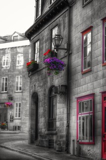 The Charm of the old Quebec