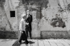 immobile (s@brina) Tags: street streetphotografic movement art murales man immobile movimento streetart creative