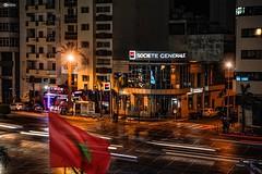 Casablanca de nuit (Mesrar Omar) Tags: light canon streetart paysage photographie photography noche night nuit casablanca morocco