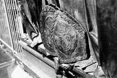 Shield (Mathias Munkenbeck) Tags: canon ae1 50mm f14 ilford hp5 black white monochrome analogue analog film filmisnotdead ishootfilm iso400 outdoor cologne köln germany deutschland