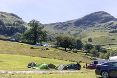 Our campsite at the foot of Helvelyn (doublejeopardy) Tags: ullswater lakedistrict cumbria dogshow glenridding fair patterdale campsite england unitedkingdom gb