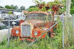 Mack B61 Truck in Bushnell FL 3.6.2018 0817 (orangevolvobusdriver4u) Tags: bushnell florida usa 2018 archiv2018 truck lkw lastwagen mack b61 mackb61 rusty rost bushnellflorida fl truckpictures
