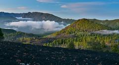 Caldera de Taburiente (free3yourmind) Tags: caldrea taburiente canary islands lapalma spain nature clouds cloudy day fog
