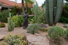 A Prickly Garden (rickcameron) Tags: statue garden cactus buenavante scottsdale arizona