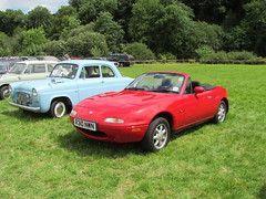 Mazda MX-5 1.6i R310NWN (Andrew 2.8i) Tags: show car cars classic classics gwili railway transport day bronwydd arms japanese sports sportscar open cabriolet convertible roadster 16 16i mx5 mazda