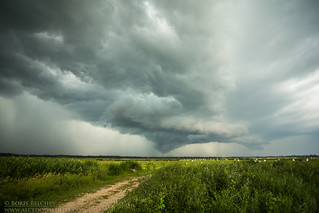 The signs of the storm and its coming to the Delta...
