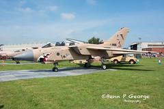 TORNADO-GR4-ZD793-10-6-18-RAF-COSFORD-AIRSHOW-18-(1) (Benn P George Photography) Tags: rafcosford airshow 10618 bennpgeorgephotography tornado gr4 zd793 jaguar gr3a xx725 buccanner s2b xx889