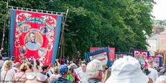 Durham Miners' Gala 2018 (Cerdic Elesing) Tags: kodakektar england crowd banner murtonlodge countydurham durhamminersassociation durham num gala object xequals unitedkingdom gb