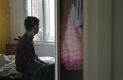 Montréal 2015 (Mafesse) Tags: portrait men bedroom bed mirror window clothes dress