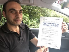 Massive congratulations to Alan passing his driving test with an excellent performance! All the best my friend!  www.leosdrivingschool.com