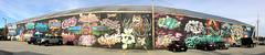 Burlington, VT :: group graffiti walls (origamidon) Tags: panorama graffiti walls mural artisis colorful vermontlakemonsters kingstreet burlingtonvermontusa burlington vermont vt usa chittendencounty greenmountainstate 05401 donshall origamidon