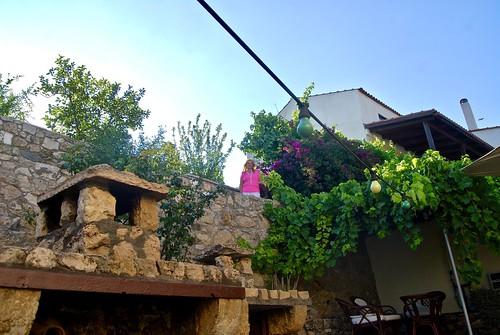 Last morning at our honeymoon estate, Siva, Crete
