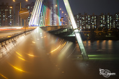 In the vortex II (Lonely Soul Design) Tags: seoul south korea asia urban architecture olympic bridge light han river skyscraper