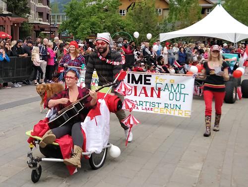 Whistler Canada Day parade