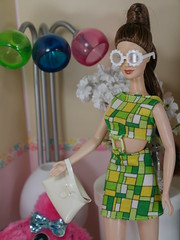 Sunglass Barbie hippie (modcasey) Tags: barbie hippie dolls for photo challenge doll divas theme