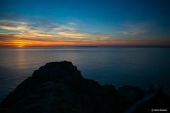 Grosnez Sunset 5 (mattatronics) Tags: sunset jersey nikon d3300 grosnez castle landscape night colour 1855 sun sea coast cliffs island ocean water skyporn