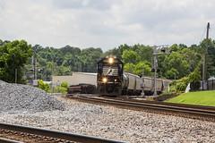 NS 127 at Austell (travisnewman100) Tags: norfolk southern train railroad freight manifest 127 austell georgia inman terminal district division ns rr emd sd70 es44ac