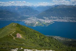 Monte Gambarogno view