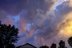 ... at sunset (mariola aga) Tags: evening sunset sky clouds light glow wideangle coth coth5 thegalaxy