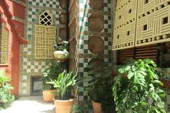 Casa Vicens, Barcelona (*SHERWOOD*) Tags: spain barcelona casavicens antonigaudí