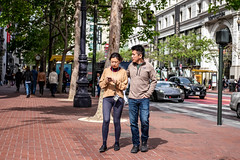 San Francisco 2018 (burnt dirt) Tags: sanfrancisco california vacation town city street road sidewalk crossing streetcar cablecar tree building store restaurant people person girl woman man couple group lovers friends family holdinghands candid documentary streetphotography turnaround portrait fujifilm xt1 color laugh smile young old asian latina white european europe korean chinese thai dress skirt denim shorts boots heels leather tights leggings yogapants shorthair longhair cellphone glasses sunglasses blonde brunette redhead tattoo pretty beautiful selfie fashion japanese tight blue brown hug