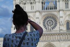 Cathédrâle en photo (ben.bourdon) Tags: paris centre ville urbain france notre dame cathedrale photo façade