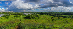 Summer in Moscow / Московское лето (Vladimir Zhdanov) Tags: nature russia moscow landscape forest park tree sky cloud grass field city building summer july