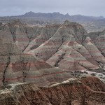 Clearing Overcast Skies Over Badlands from Panorama Point (Badlands National Park) thumbnail