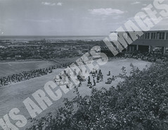 931- 5556 (Kamehameha Schools Archives) Tags: kamehameha archives ksg ksb ks oahu kapalama luryier pop diamond 1955 1956 may day lei kspd