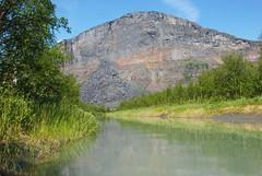 Skierfe - The gate to Sarek (remastered) (talaakso) Tags: cliff klippe mündung mündungsdelta sarek skierfe wall brant delta gateofsarek gorge joki jokilaakso jokimaisema klippa mynning riverdelta rivergorge riverbed turquoiseriver turquoisewater älv ätnö norrbottenslän sweden se laponia