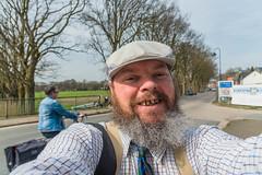 Bicycling Across A Border (Gerry Lynch) Tags: selfie kleve netherlands niederrhein border nrw emmerich sheerenberg montferland germany